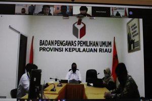 Bawaslu Kepulauan Riau Tingkatkan SDM Kehumasan dengan mendatangkan narasumber berpengalaman