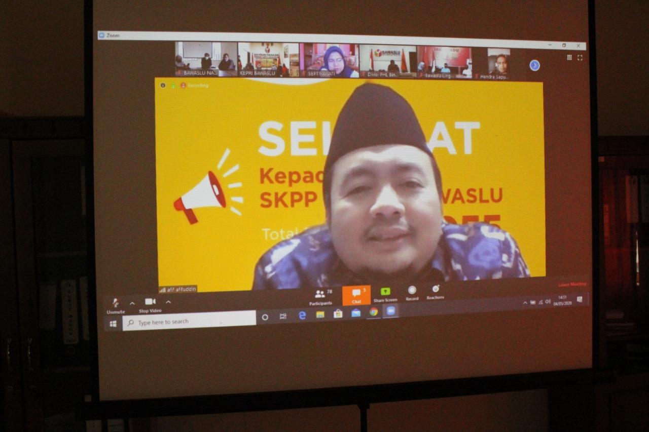 Pembukaan SKPP Daring Se-Provinsi Kepulauan Riau