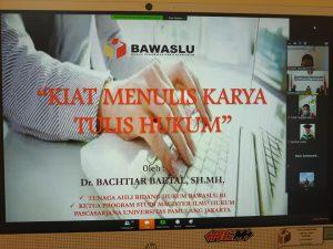 Bawaslu Kepri gelar diskusi terkait penulisan karya ilmiah